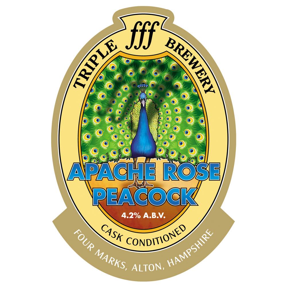 Apache Rose Peacock clip