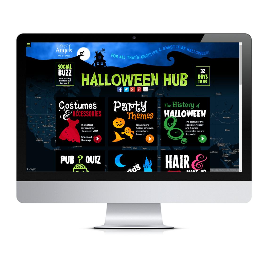 Halloween Hub home