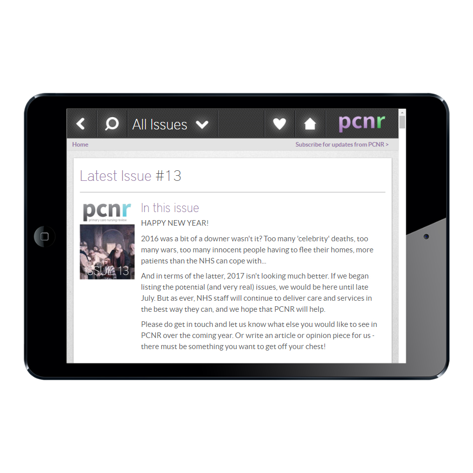 PCNR – Tablet
