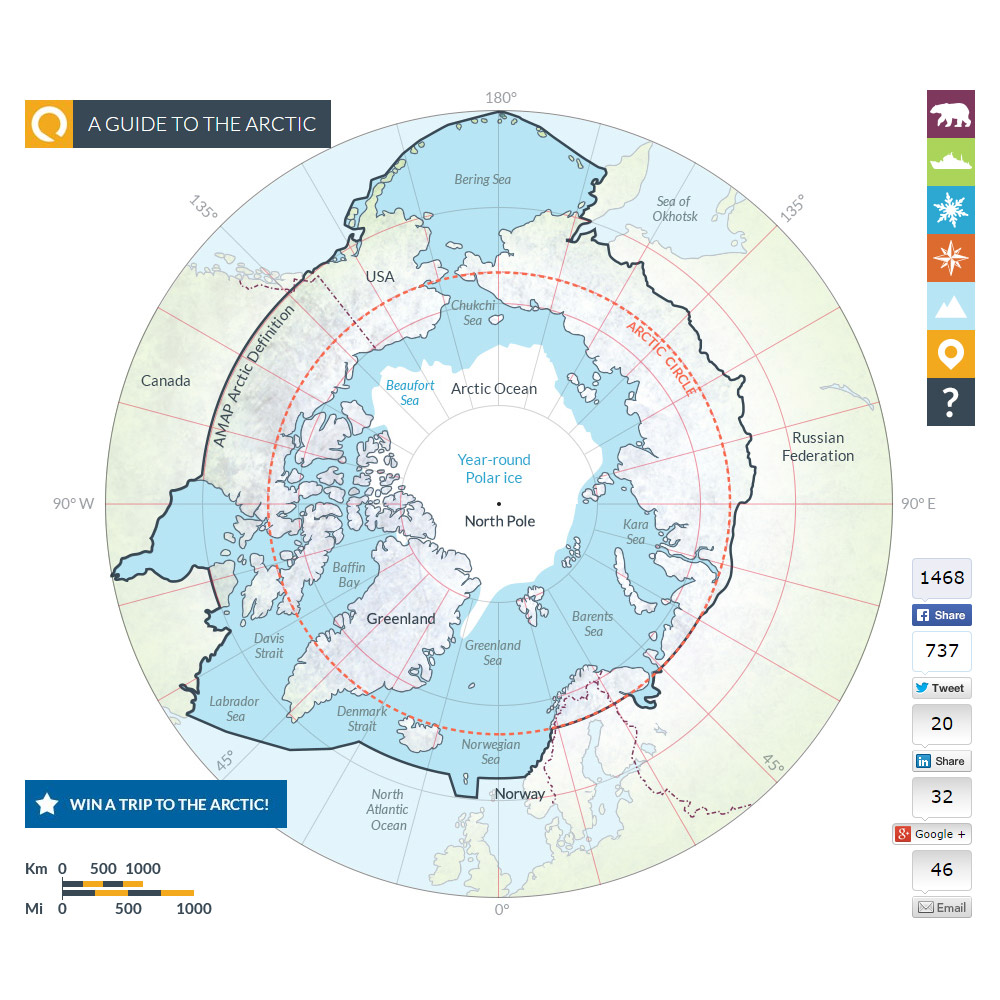 Arctic map 1