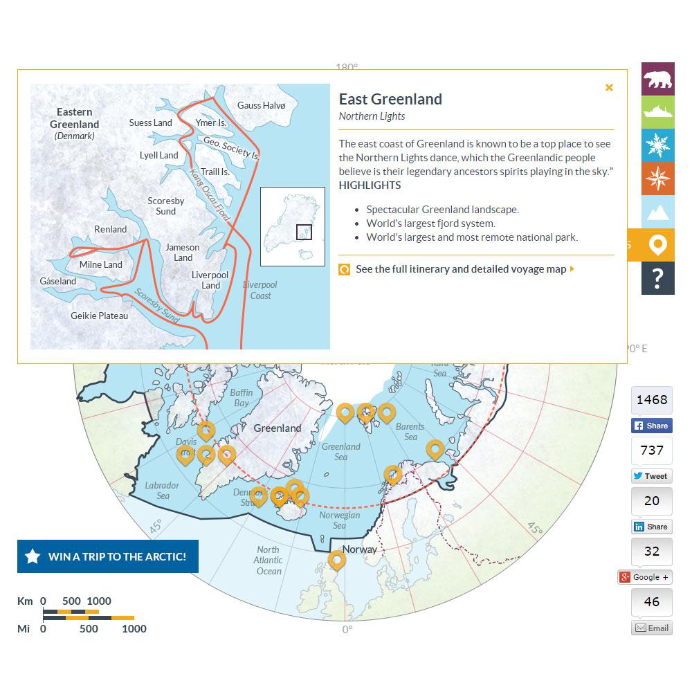 Arctic map 10