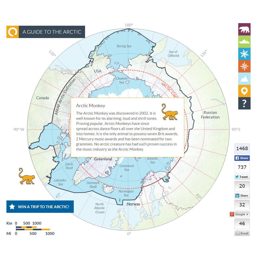 Arctic map 11