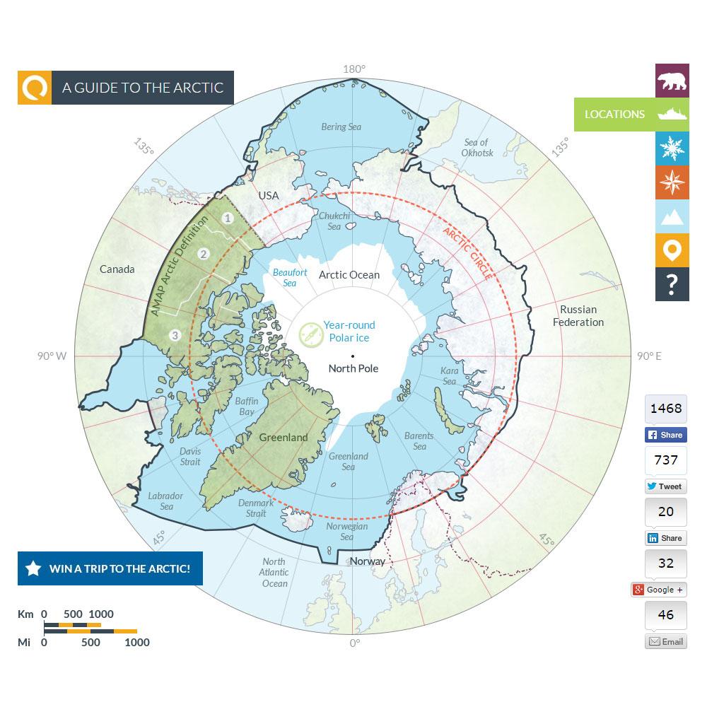 Arctic map 13