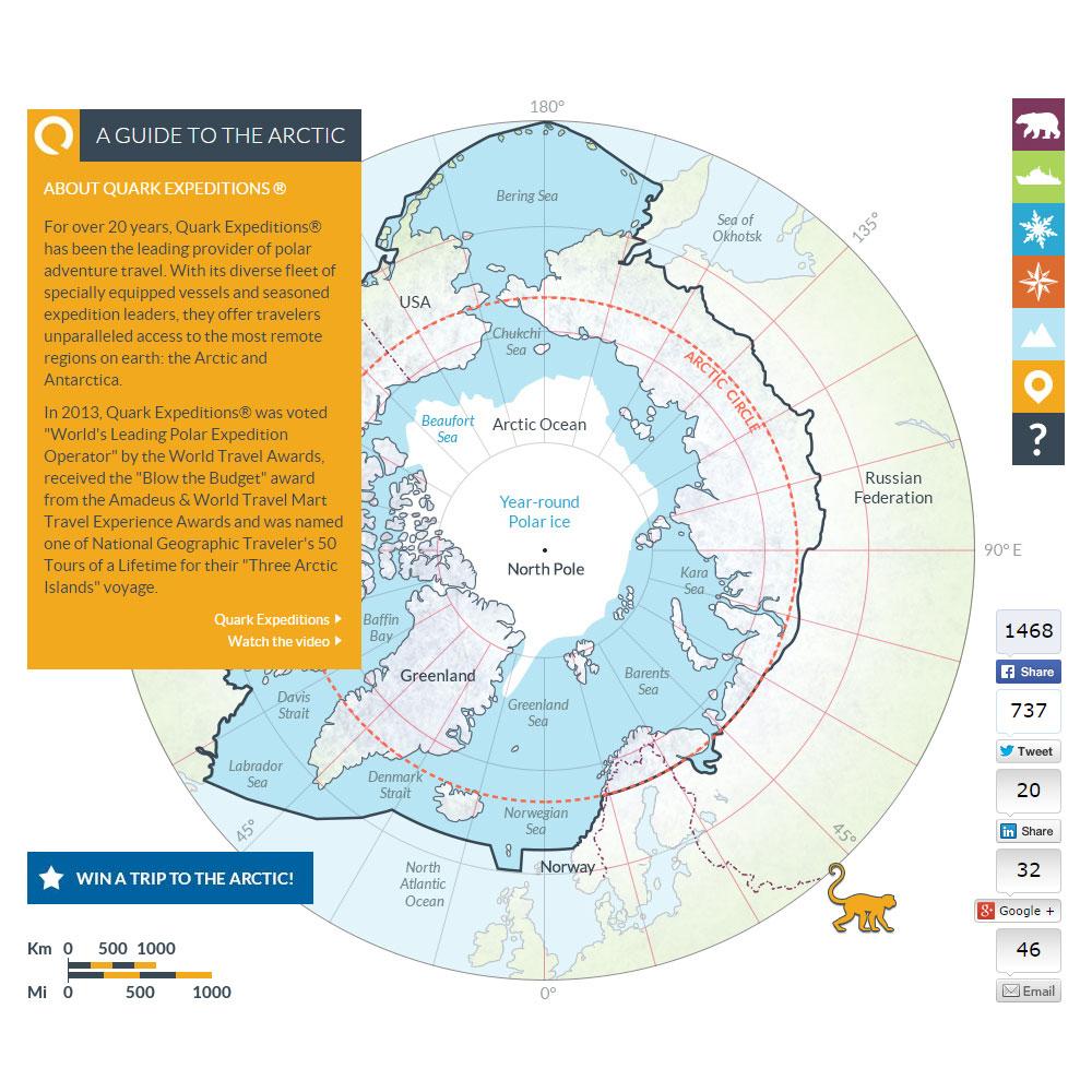 Arctic map 3