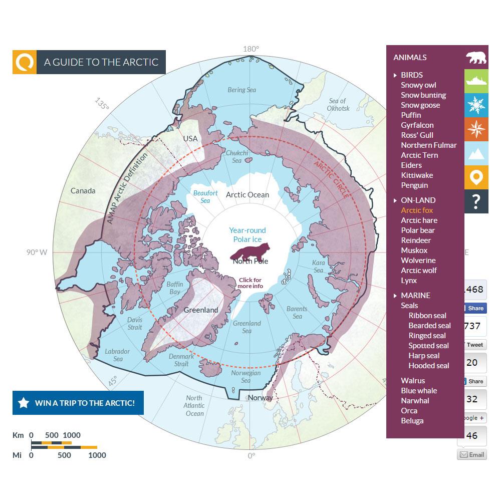 Arctic map 4