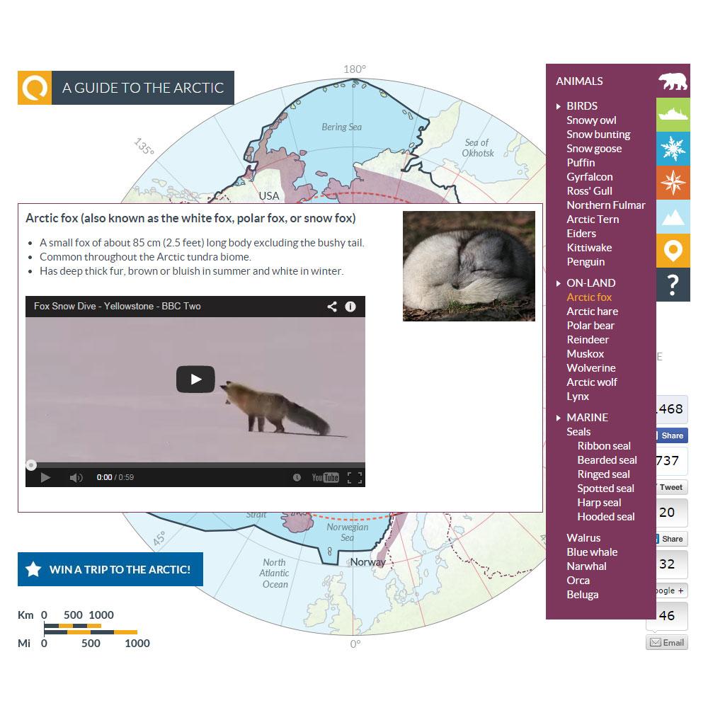 Arctic map 5