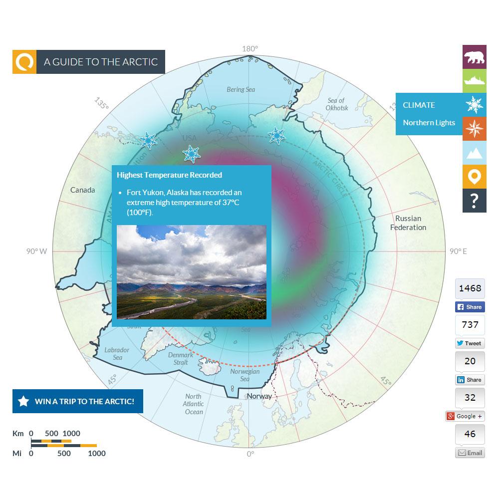 Arctic map 7