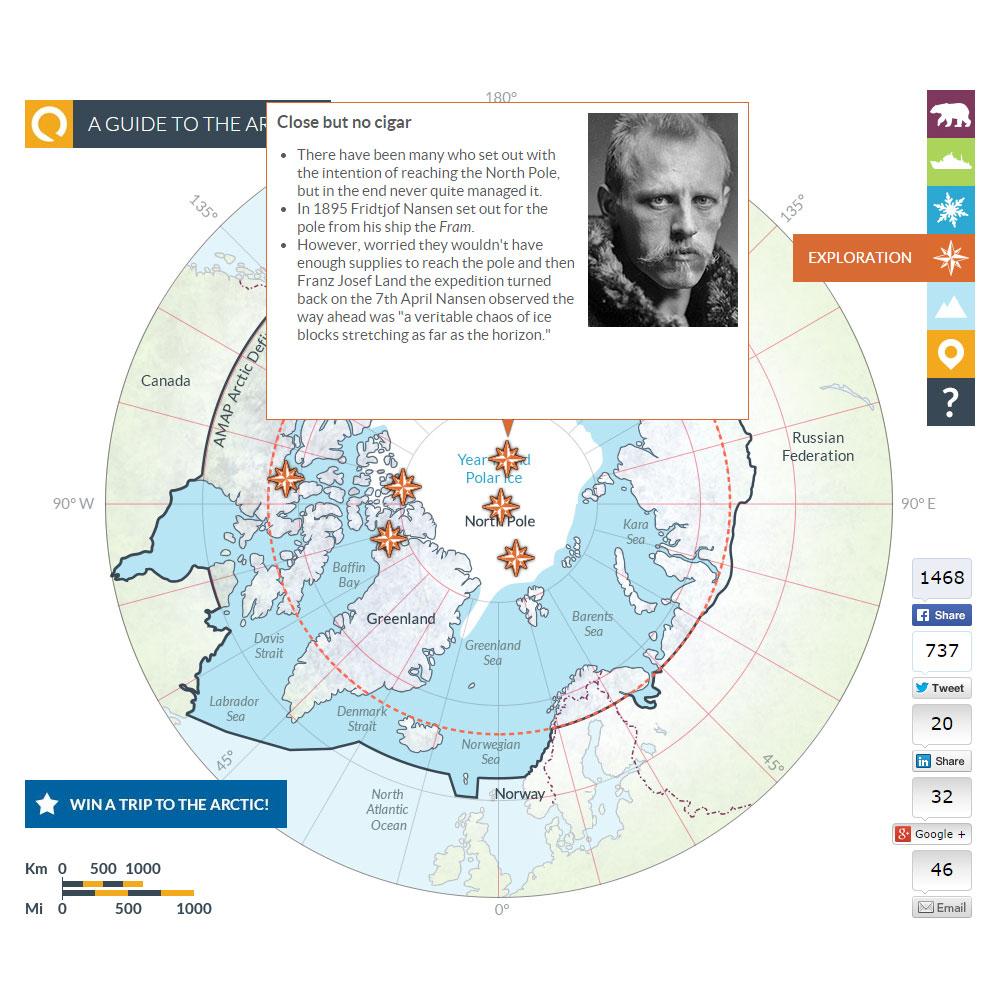 Arctic map 8