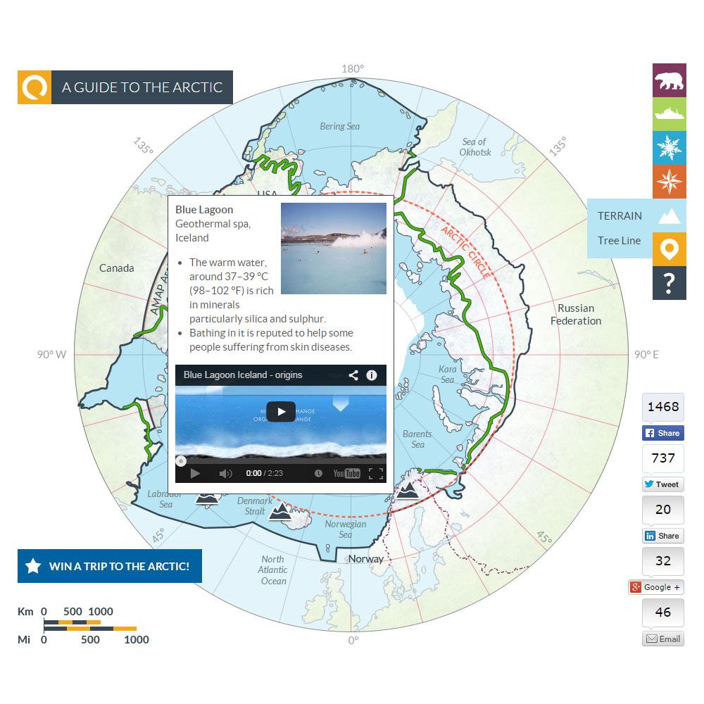 Arctic map 9