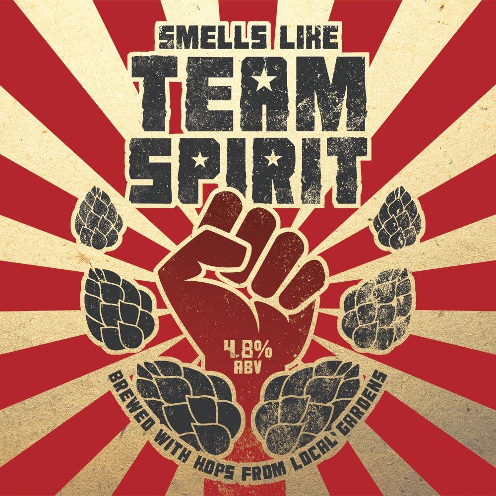 Smells like Team Spirit