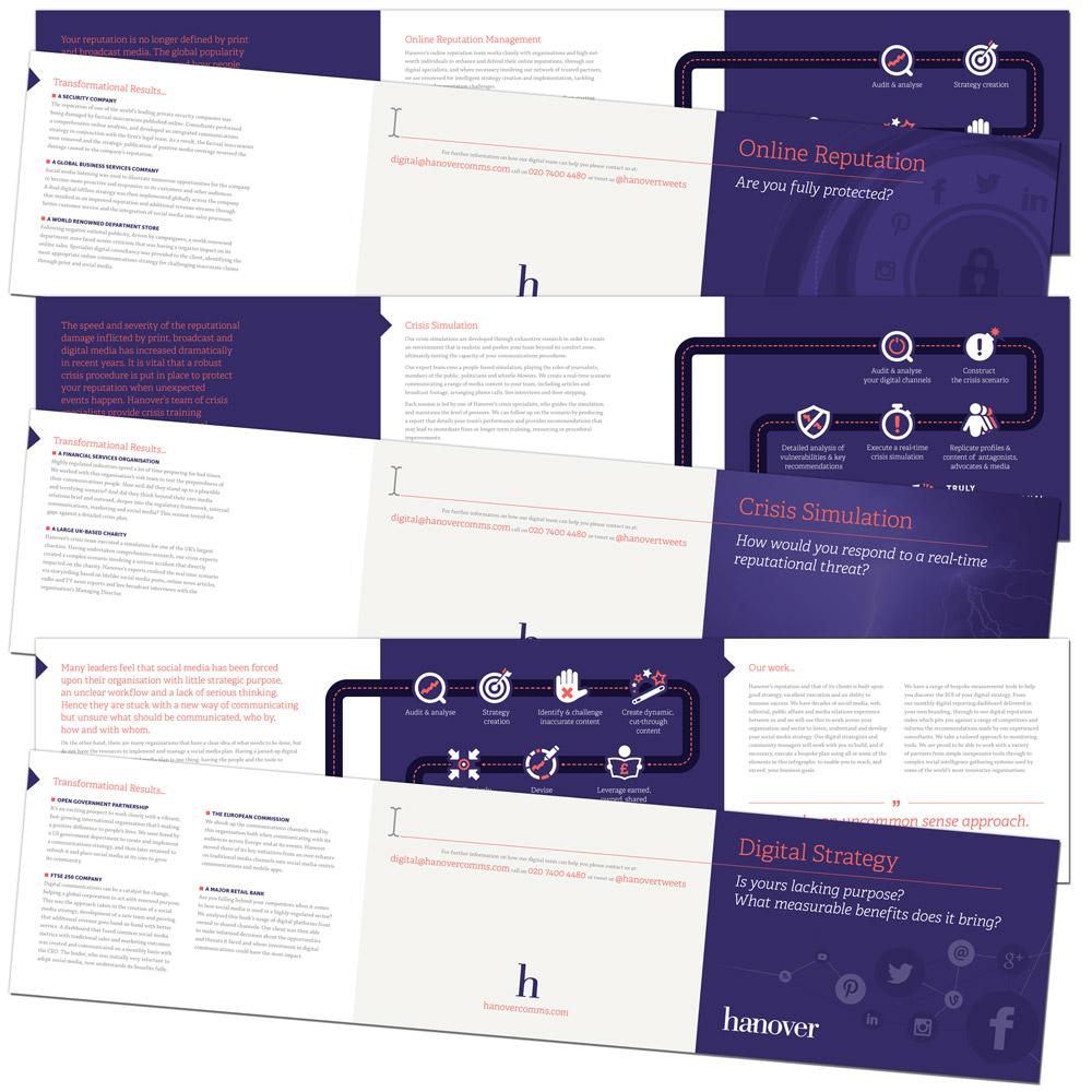 Range of leaflets